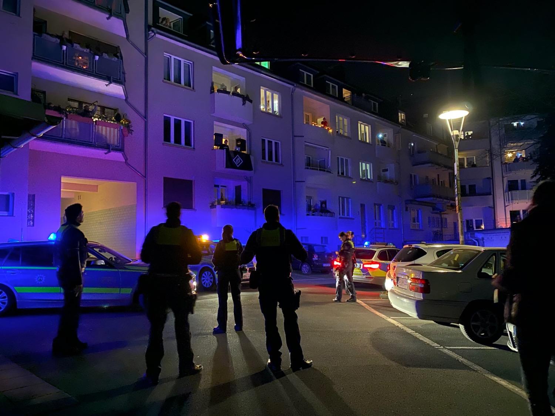 Polizeibesuch bei der BölkerBrüder Balkonparty in Dortmund