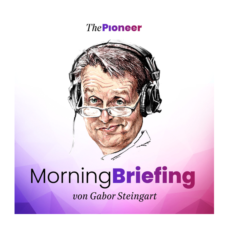 Gabor Steingart Morning Briefing Podcast Cover